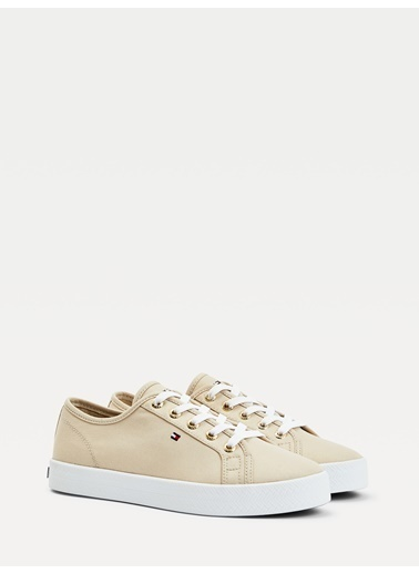 Tommy Hilfiger Kadın Essential Nautical Sne Sneakers FW0FW04848 Bej